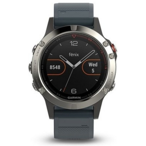 Sportestr s GPS Garmin Fenix 5S Silver Optic