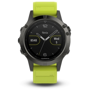 Sportestr s GPS Garmin Fenix 5 Grey Optic