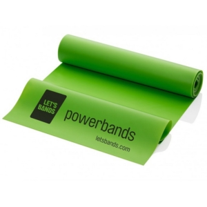 Lets Bands posilovací guma expander Powerband Flex Green