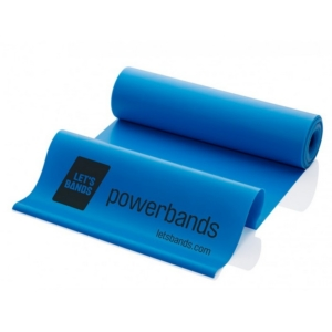 Lets Bands posilovací guma expander Powerband Flex Blue