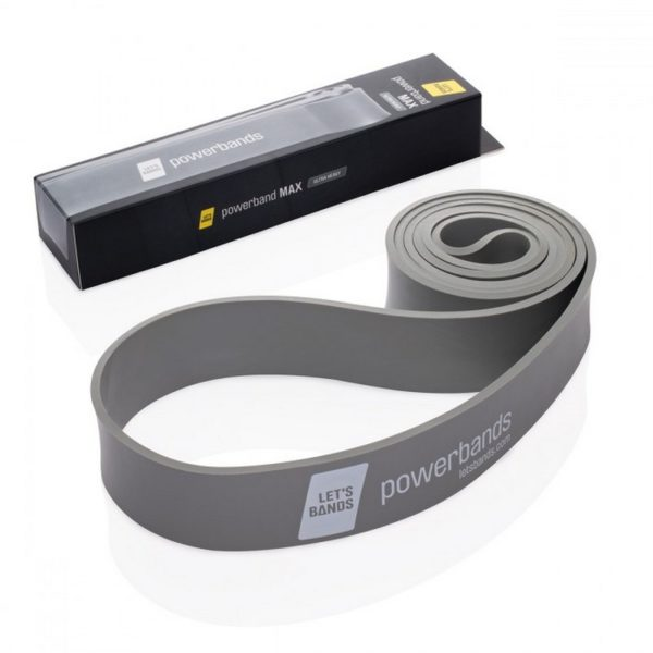Lets Bands posilovcí guma expander Powerbands Max Grey