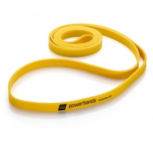 Lets Bands posilovací guma expander Powerbands Max Yellow