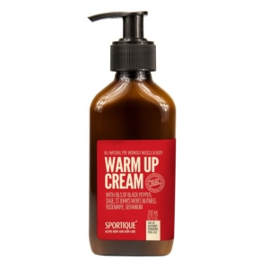 Hřejivý krém Sportique Warm up cream 200ml.