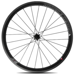 Zapletené kolo Profile Design 38 TwentyFour Rear Full Carbon Clincher Wheel SHM